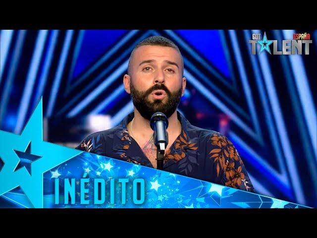Este concursante ROMPE SUS MIEDOS cantando en esta actuación   Inéditos   Got Talent España 2021