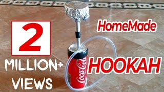 How to make a hookah with coke can easily- How to make it   DIY Creative Ideas