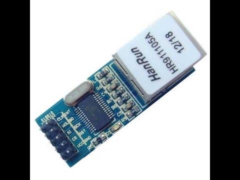 Распаковка и обзор Ethernet Module ENC28J60