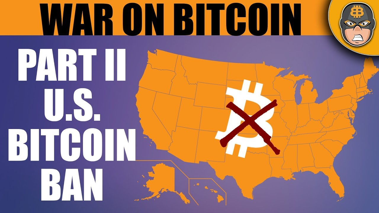 how to ban bitcoin