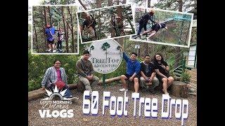 VLOG#7 60 FOOT TREE DROP | BAGUIO TREE TOP ADVENTURE | GMDVlogs | Jervy Santos