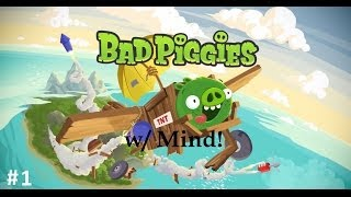 Bad Piggies Sandbox Creations: Episode 1 - A Non-Minecraft Video!