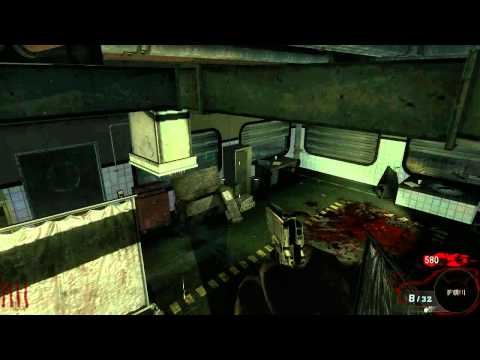 """Call Of Duty Black Ops Zombie Modus """"Five"""" New Glitches HD"""