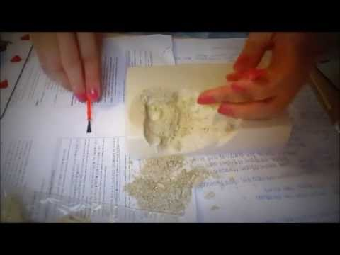 [ASMR] Excavating Dino Fossil Kit Part 4 (No Talking/Soothing touch/Sand sounds)
