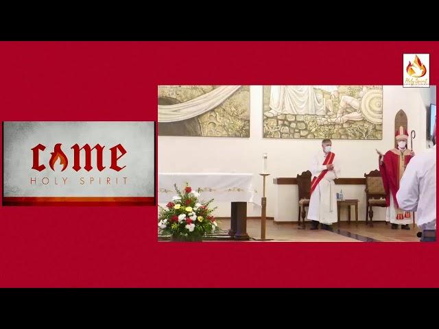Confirmation Mass at Holy Spirit Catholic Church