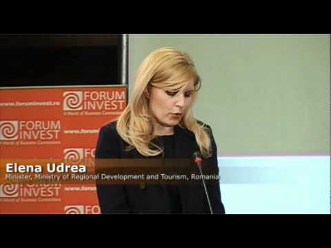 Elena Udrea, FORUM INVEST, GULF COOPERATION COUNCIL - ROMANIA - BUCHAREST