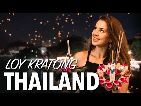 WHAT IS LOY KRATHONG FESTIVAL - Chiang Mai Floating Lantern Festival Thailand