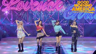 Blackpink - Lovesick Girls (Live on Good Morning America) HD
