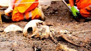 3,000 Skeletons Excavated Under London Metro