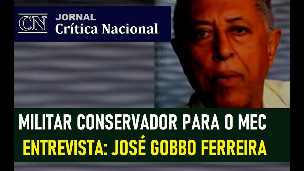 JORNAL CRÍTICA NACIONAL: ENTREVISTA COM CORONEL JOSÉ GOBBO FERREIRA