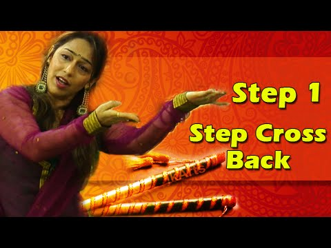 Six step garba with Vidya Nahar - YouTube