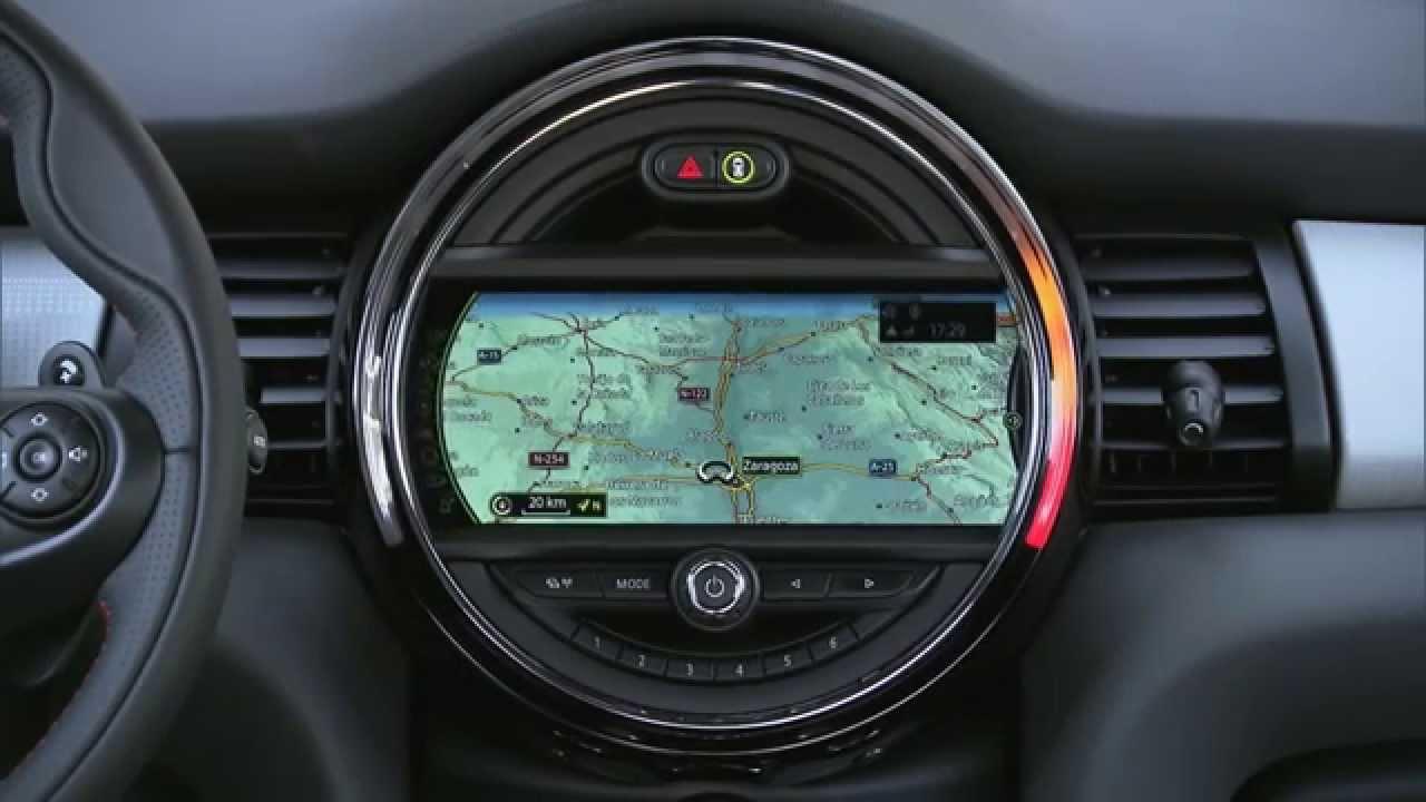 der neue mini 5 trer modell f55 design interieur