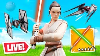 Star Wars X Fortnite *LIVE* EVENT!