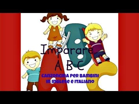 Canzoncina dell 39 alfabeto inglese per bambini piccoli for Canzoncini per bambini piccoli