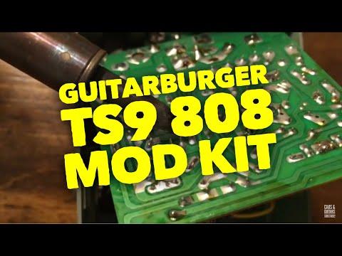 TS9 Tube Screamer 808 Mod Kit Installation
