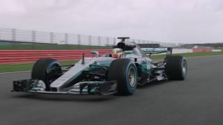 MERCEDES AMG PETRONAS MOTORSPORT LAUNCHES W08 EQ POWER+ | AutoMotoTV