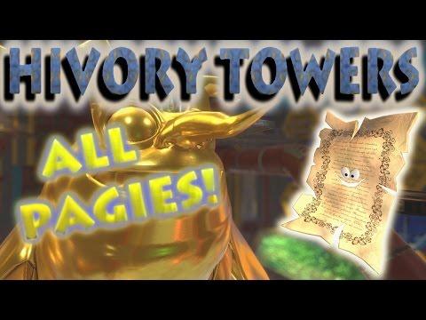 Yooka-Laylee - ALL Hivory Tower Pagies Locations