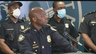 Interim Atlanta Police chief addresses officer sickouts, protests and tensions across city