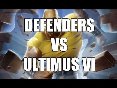 Defenders Vs Ultimus VI Final Node - Marvel Strike Force