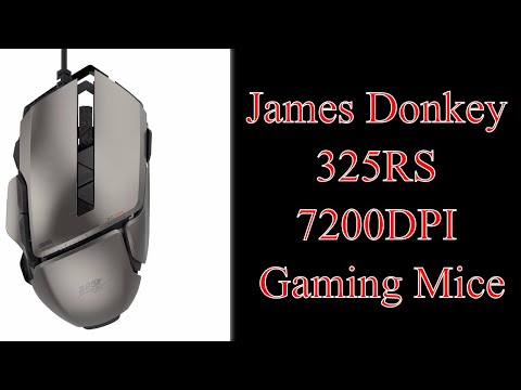 James Donkey 325RS 7200DPI Gaming Mice | Shop For Gamers #325rs 72000dpi #gaming #mouse #jamesdonkey