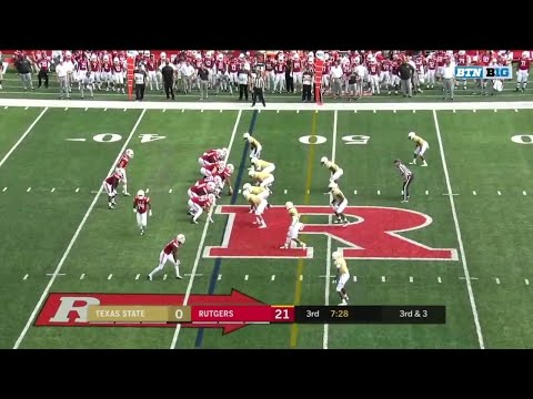 Highlights: Texas State vs. Rutgers Scarlet Knights | Big Ten Football