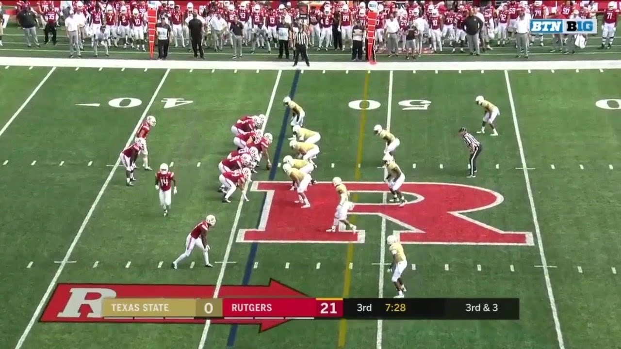 highlights texas state vs rutgers scarlet knights big ten