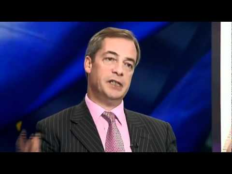 UKIP Nigel Farage vs Conservative Matthew Hancock MP - Channel 4 News  Dec 11