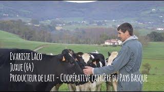 Evariste LACO (Producteur de Lait de vaches) - Eleveur Ambassadeur Bleu-Blanc-Cœur