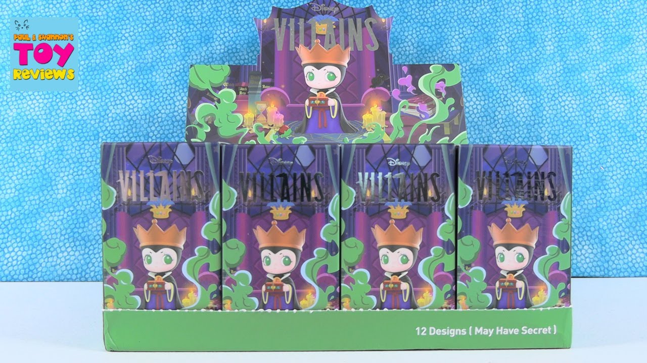 Disney Villains Pop Mart Blind Box Mystery Collector Figures Opening Review | PSToyReviews