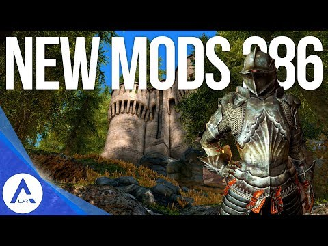 5 Brand New Console Mods 286 - Skyrim Special Edition (PS4/XB1/PC)