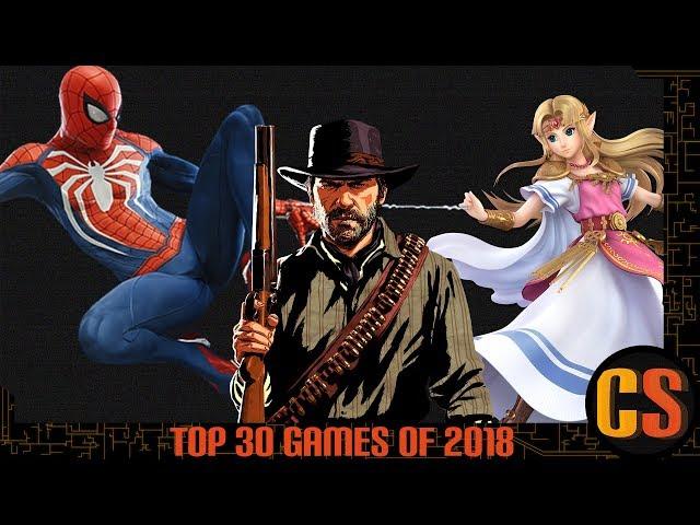 TOP 30 GAMES OF 2018