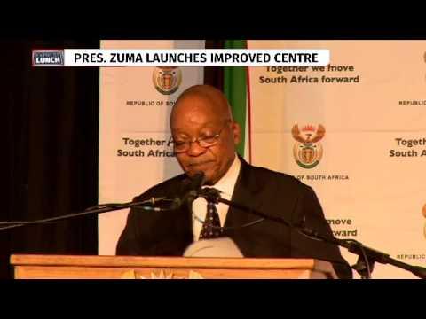 President Zuma opens revamped Tutu refugees centre