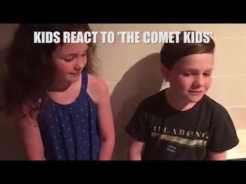 Kids react to The Comet Kids movie 4!