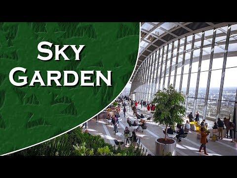 Sky Garden - 20 Fenchurch Street, London. Walkie-Talkie