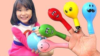 라임의 얼굴풍선 핑거패밀리 노래 | 슈퍼라임 뮤직비디오 finger family song | nursery rhyme