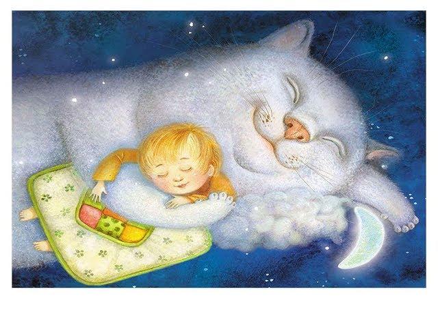 Изображение предпросмотра прочтения – АннаКотова читает произведение «Котя, котенька, коток» (Русский фольклор )