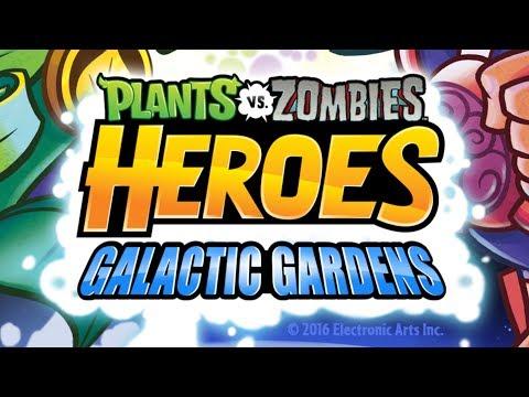 NEW Plants vs Zombies Heroes   Captain Hack vs Friends   Galactic Gardens