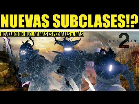 Destiny 2: Bungie Habla de Nuevas Subclases! Armas Especiales, Bajar el TTK, Revelar el DLC 2 y Más thumbnail