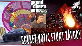 IKAWOLF - GTA 5 Online - ROCKET VOTIC STUNT ZÁVODY