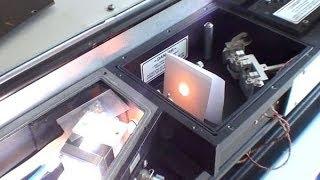 Chromatix dye laser R6G at 1.10-3 Mol