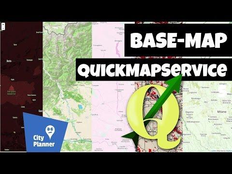 Google Maps Satellite, Bing e OpenStreetMap su QGIS [sub-ENG]