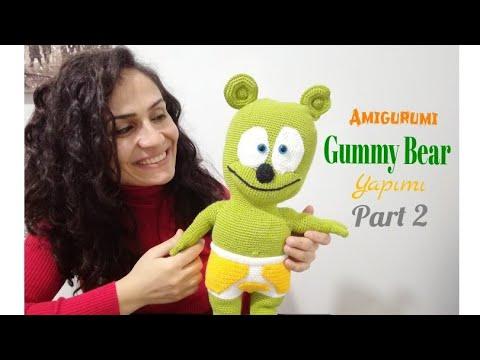 Amigurumi Mesh Toy Big Bear and Masha Cartoon Masha Doll Built ... | 360x480