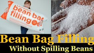 How to Refill a Bean Bag Without Spilling Beans | Learn To Refill Your Bean Bag Easily at Home