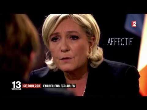 Test de psychologie effectué sur les 2 candidats Marine et Macron 30/4/17