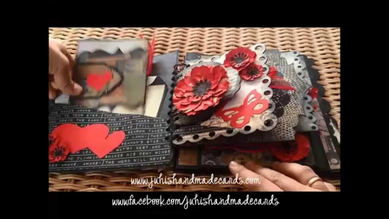 Scrapbook ideas romantic - Romantic Love Valentine S Day Scrapbook