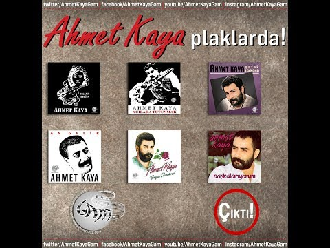 Ahmet Kaya Plaklarda!