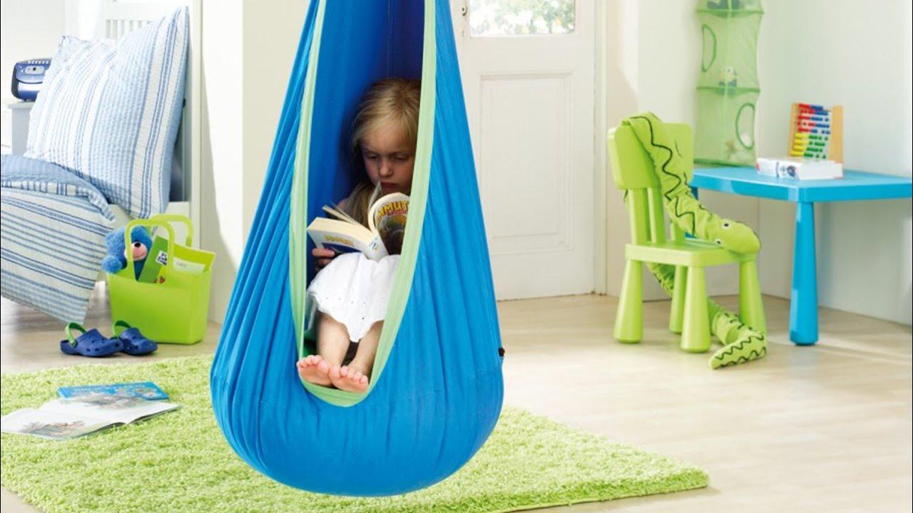 La Siesta fotel hamakowy dla dzieci Joki  YouTube