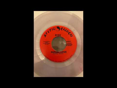 """Rise - Rock And Roll Heart/Future Love 7"""" ep mystic records punk LA 1980"""