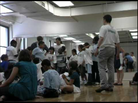 Broadway Artist GO Beyond in the 2nd DAY 2nd year of the D2GB Children Performing Arts Camp