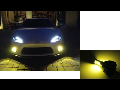 3000k Yellow Led Conversion Kit For Fog Lights Headlights